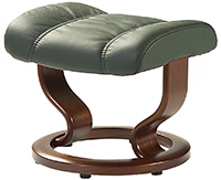 Stressless Consul Recliner Chair Ottoman