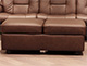 Stressless Double Ottoman Paloma Chocolate Leather