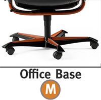 Stressless Wing Office Desk Chair Wood Accent Base