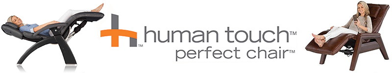 Human Touch Perfect Chair Leather Upgrade Sale