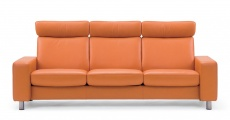 Stressless Space High Back Sofa, LoveSeat, Chair and Sectional by Ekornes