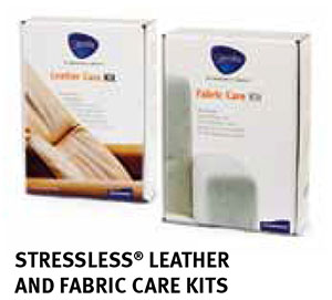 Stressless Recliner Chair Leather and Fabric Care Kits