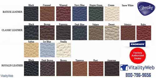 Stressless Batick Latte 09304 Leather Colors